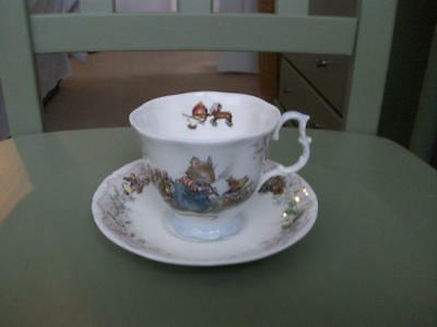 Royal Doulton Brambly Hedge Cup & Saucer - The Birthday.