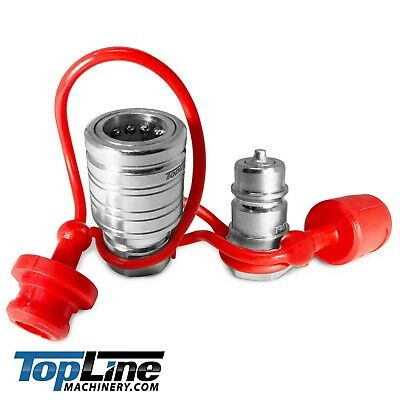 """TL39 1/2"""" NPT Thread 1/2"""" Ag Push/Pull Hydraulic Quick Connect Coupler Poppet"""