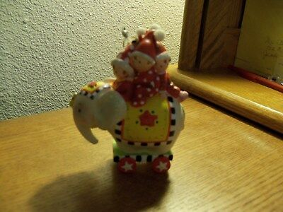 Mary Englebreit Vintage Circus Elephant Ornament with Kids