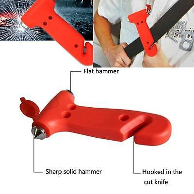 Fantastic 2 in 1 Car Glass Window Breaker Emergency Hammer Seat Belt Cutter H*