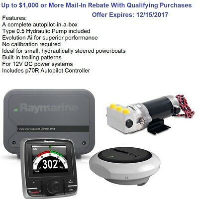 Raymarine EV-100 Power Evolution Complete Autopilot-in-a-Box