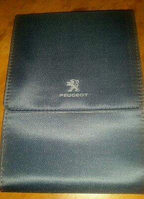 Pochette porte documents peugeot  d'origine vide