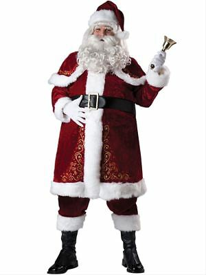 Plus Size Jolly Ol' St Nick Deluxe Holiday Costume