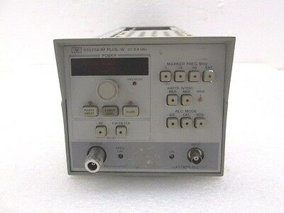 HP Agilent 83525A Opt 002 RF Plug-In .01 - 8.4GHz - Fully Tested - Ships Today