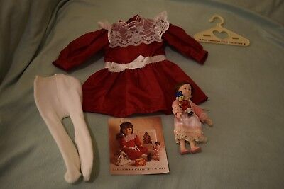Pleasant Co. A. G. Samantha's Christmas Doll, Dress, Nutcracker Retired Set