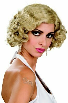 Flapper Monroe Halloween Wig 3 different colours!