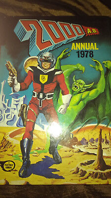 2000 AD Annual 1978 by Fleetway Publications