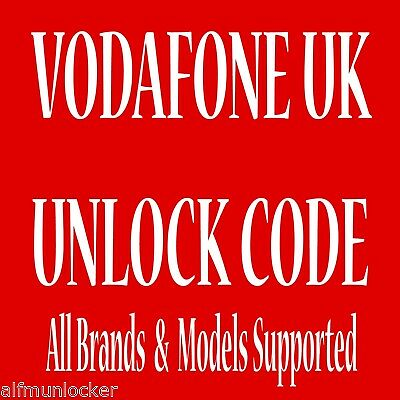 Vodafone UK Samsung Galaxy S2 S3 S4 S5 S6 S7 Edge Unlock Code
