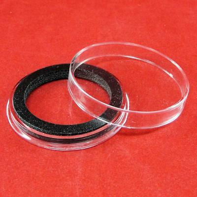 15 Air-Tite X6Deep 38mm Ring Coin Holder Capsules for 2 oz High Relief Coins