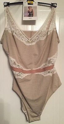 M&S Collectiin Sport Lacy Body -  Size 16
