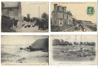 Lot 4  Cpa 14 / Arromanches  / Animees