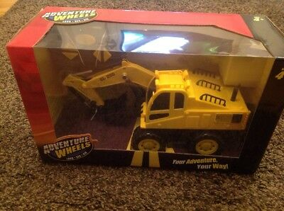 Remote Control Adventure Wheels Digger Brand New in Box