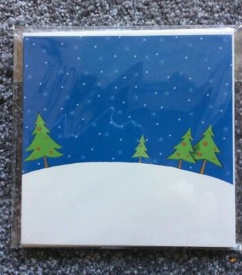 5 Pack Christmas cards DIY stickers to decorate Children's Arts Crafts Creative