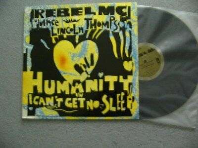 """Rebel MC Feat Prince Lincoln Thompson Humanity (PS) 12"""" Vinyl Single  NMINT"""
