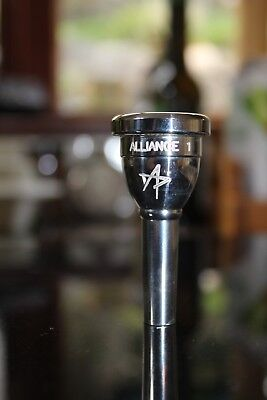 Alliance 1 Cornet Mouthpiece - silver - very lightly used - v good cond.