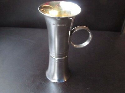 Small Art DECO Solid Silver Vase Double ended Birmingham B&C rare