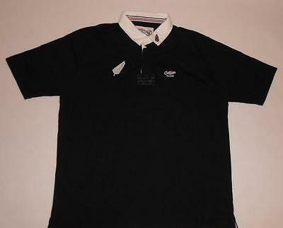 RUGBY SHIRT COTTON TRADERS NEW ZEALAND ALL BLACKS (XXL) Jersey Trikot Maillot