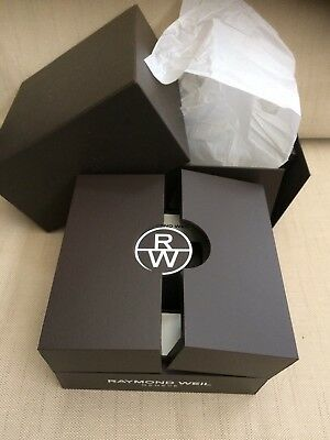 raymond weil Watch Box Original Dark Brown