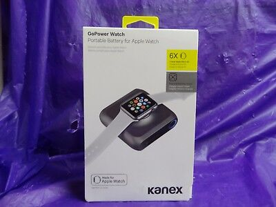 Brand New! Kanex Gopower Watch Portable Battery Charger For Apple Watch ~