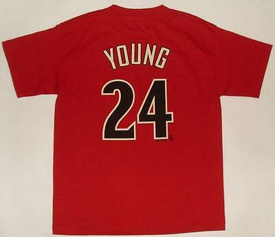BASEBALL SHIRT MLB MAJESTIC ARIZONA D-BACKS - YOUNG # 24 (L) Jersey Trikot