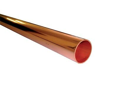 Copper Tube Lengths From 10Cm (Od 8Mm, 10Mm,15Mm, 22Mm, 28Mm, 35Mm, 42Mm, 54Mm)