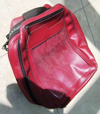 Bagster Tank Bag Dark Red Complete in VGC