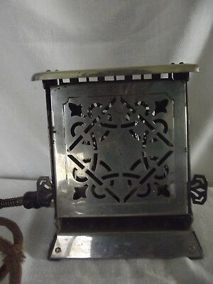 Vintage/Antique 1914 Edison Electric Appliance Co. INC. Simplex 2 sidedToaster