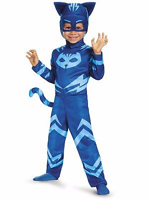 PJ Masks Catboy w/Detachable Tail Classic Halloween Costume Toddler 3T-4T