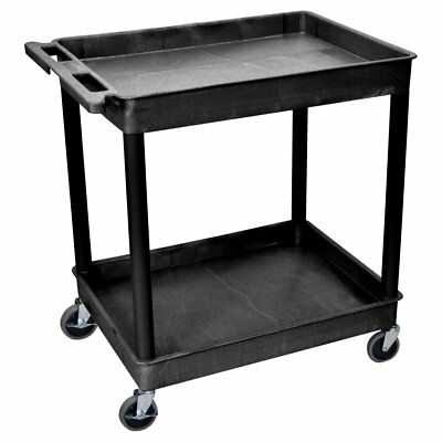 Luxor 2 Shelf Tub Cart