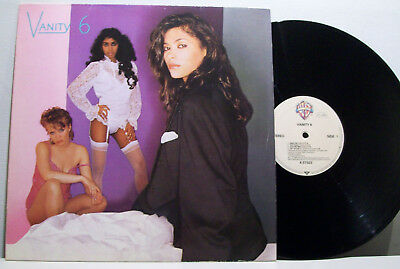 VANITY 6 - s/titled LP PRINCE electro '80s FUNK the time GERMAN ORIG starr co.