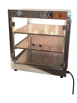 "HeatMax 21x21x24 Humidified Commercial Pizza Warmer for up to 18"" Pizza"