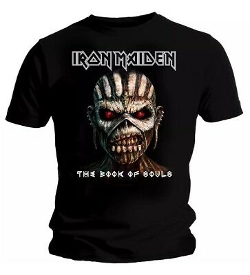 Iron Maiden T Shirt Official The Book Of Souls