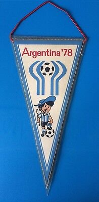 Official Argentina World Cup 1978 Pennant