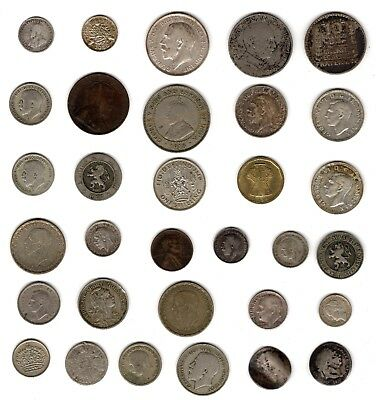 Mix Of World Coins Including Silver***Collectors***(WC77)