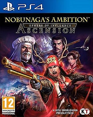 PS4 Nobunagas Ambition Sphere Of Influence Ascension New Sealed Pal Spain