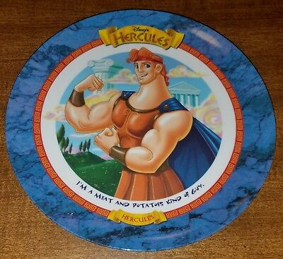 Vintage Disney's 'Hercules' McDonald's Plastic Collectible Plate 1997 New