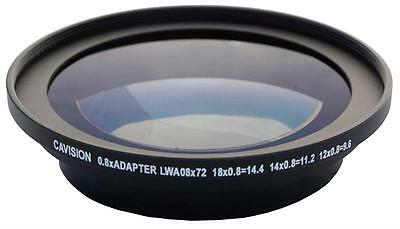 0.8x Wide Angle Adapter for 72mm Thread Lens