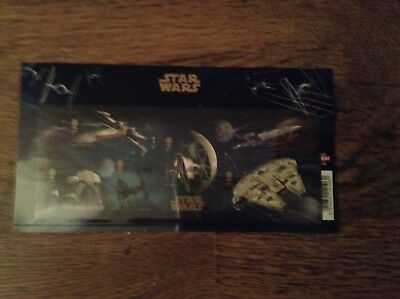 BRAND NEW ROYAL MAIL STAR WARS 1st CLASS SET OF 6