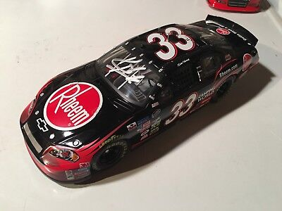 2009 Kevin Harvick Autographed Signed Rheem Diecast Car