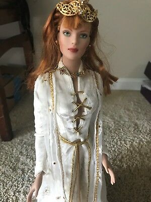 Medieval Times:  OOAK THE WHITE QUEEN.