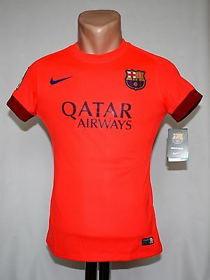 New Authentic Nike Barcelona Womens Jersey 2014 2015 shirt, Soccer size XS