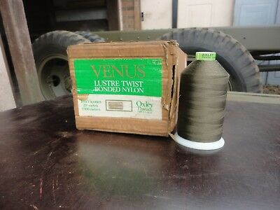 Large Reel Olive Green Ex Army Military Oxley Nylon Thread Canvas