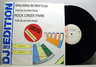 "BLACKBYRDS - rock creek park / walking in rhythm 12"" B-BOY BREAKS rare groove"