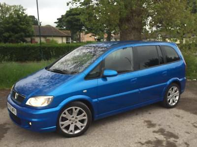 VAUXHALL ZAFIRA GSi 2.0 16V  TURBO 7 SEATER LOW MILES NEEDS A FEW JOBS BARGAIN