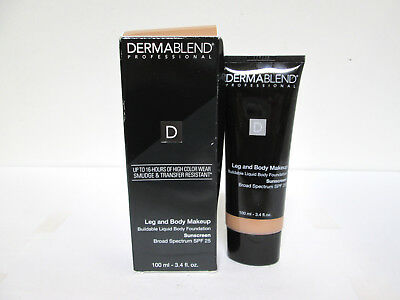 Dermablend Leg & Body Makeup SPF 25 - Medium Natural 40N  - 3.4 oz [HB-D]