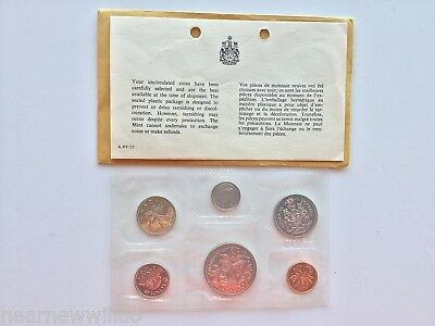 Canada 1970 Uncirculated 6pc Coin Set Mint Sealed