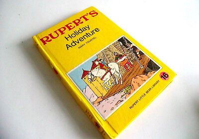 1960s BOOK RUPERT'S HOLIDAY ADVENTURE - LITTLE BEAR LIBRARY NO 16 - MARY TOURTEL