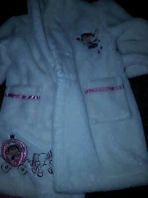 baby girls dressing gown 12-18