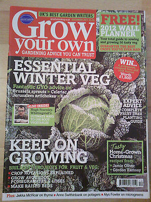 Grow Your Own December 2011