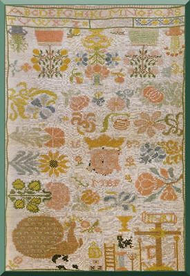 17th -19th CENTURIES SAMPLERS - EMBROIDERY PATTERNS BOOK
